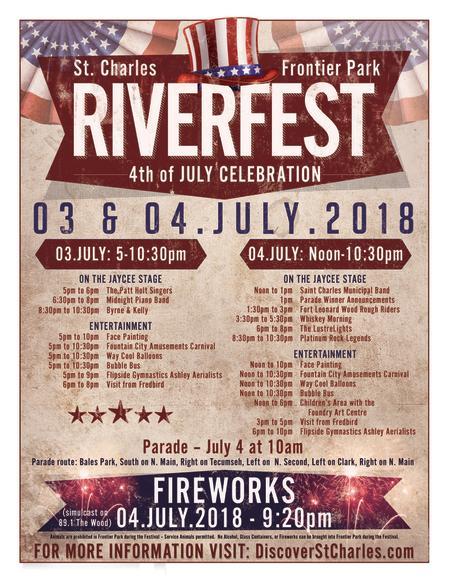 2018 Riverfest Flyer