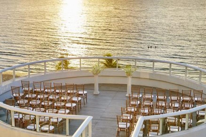 BalQony Ceremony Rotunda - Ocean View