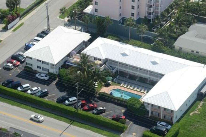 Aerial View of the Carriage House Resort