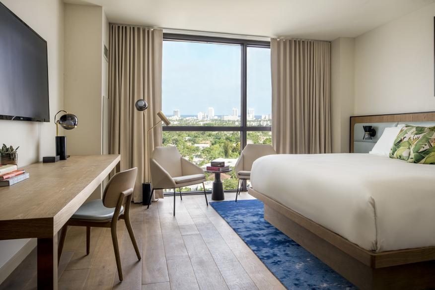 The Dalmar King Model Guestroom