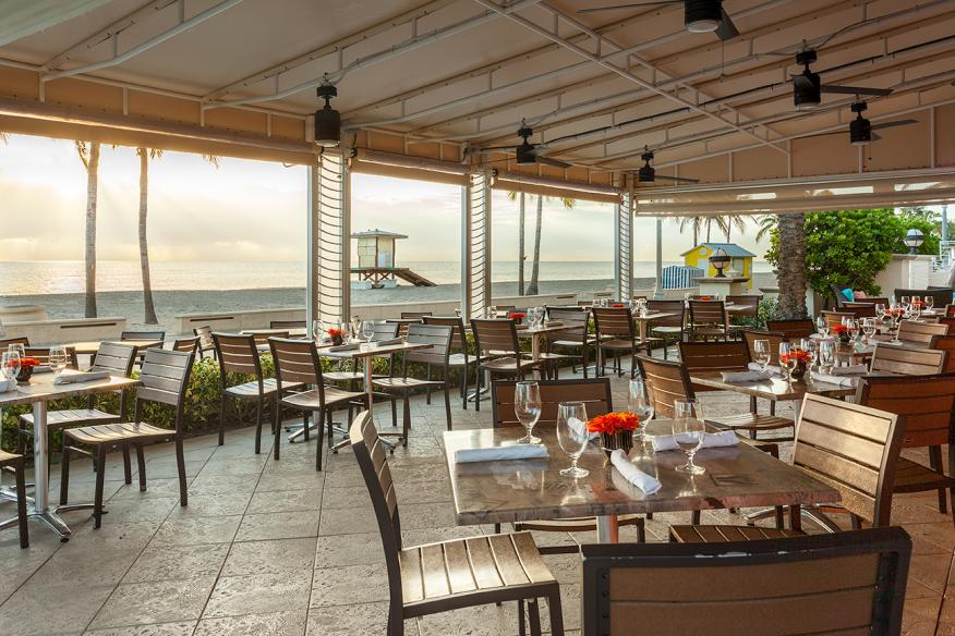 Latitudes Restaurant - Sunrise Views