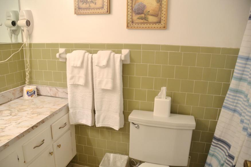 Standard 1/1 bathroom
