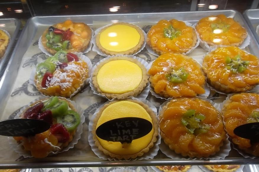 Gran Forno Bakery's Fruit Custards