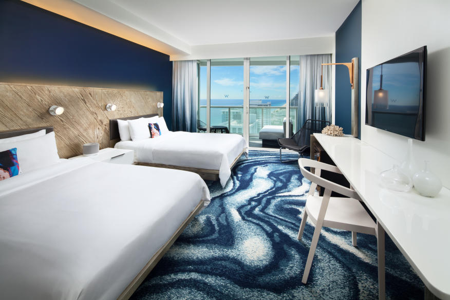 W Fort Lauderdale Spectacular Queen Guest Room