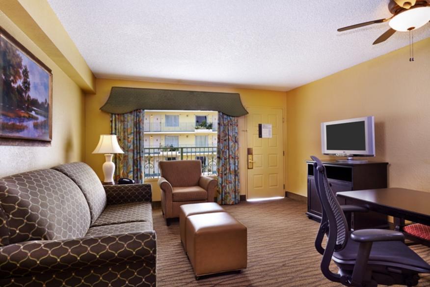 Living Area- Suite
