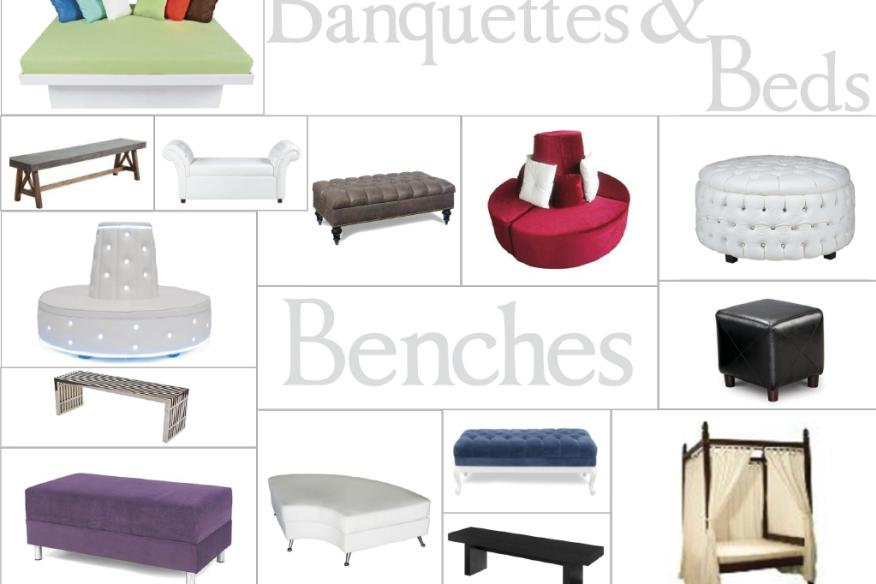 Beds, Banquettes, & Benches