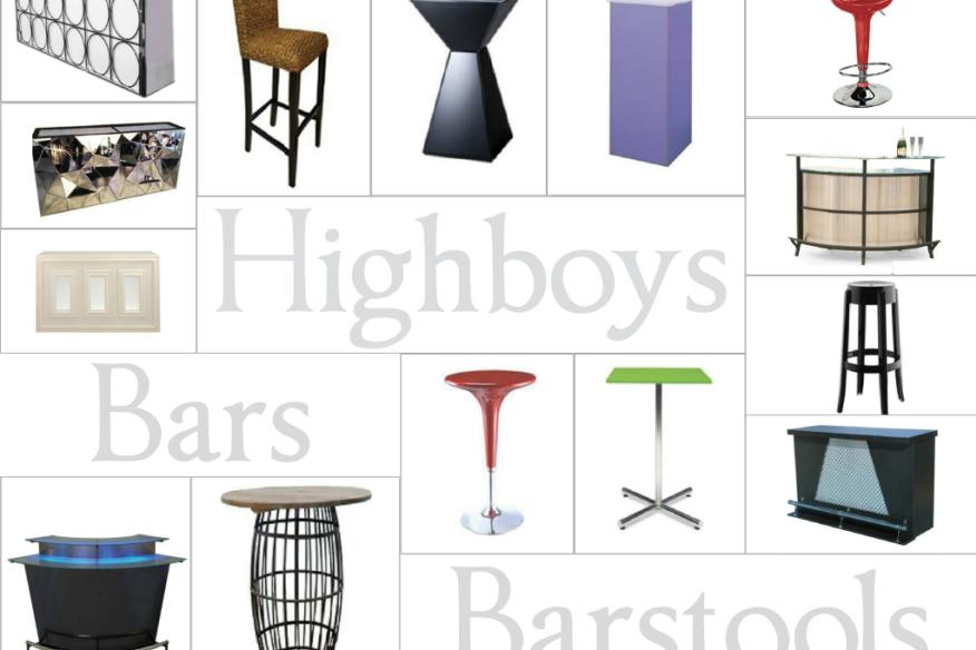Bars, Barstools, & Highboys