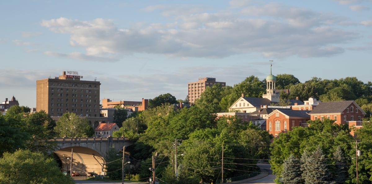 Bethlehem north side view
