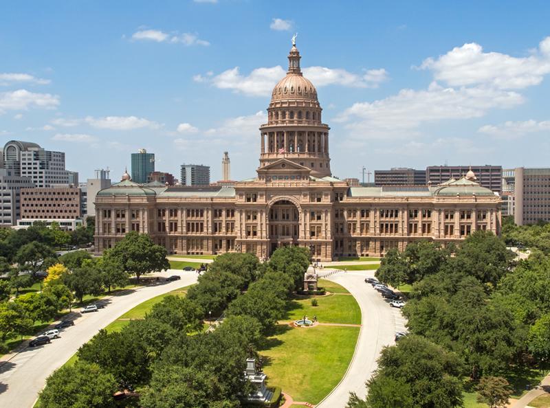 Texas State Capito, South Facade