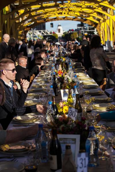 Farm-to-Fork Dinner on Tower Bridge