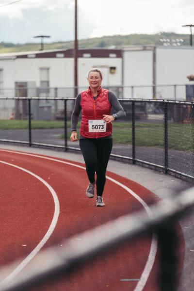Run for the Red Marathon in the Pocono Mountains