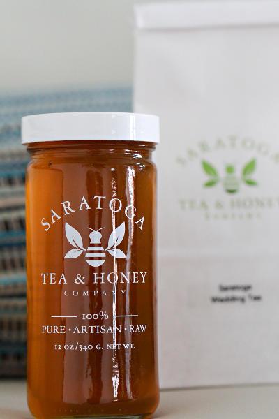 Shot of Saratoga Tea & Honey jar