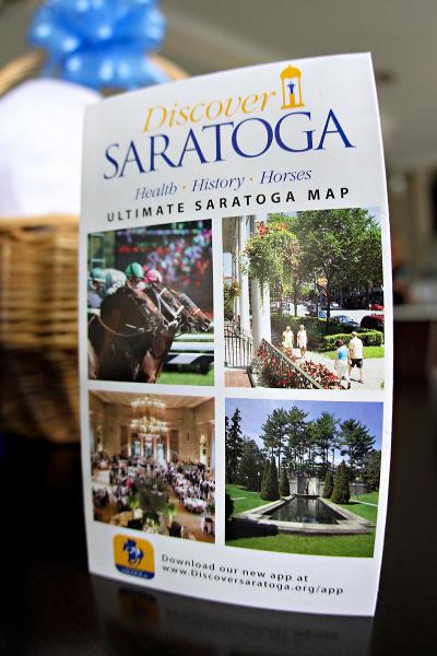 Discover Saratoga Ultimate Saratoga Map cover
