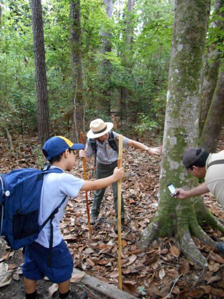 Big Thicket National Preserve Ranger Hike