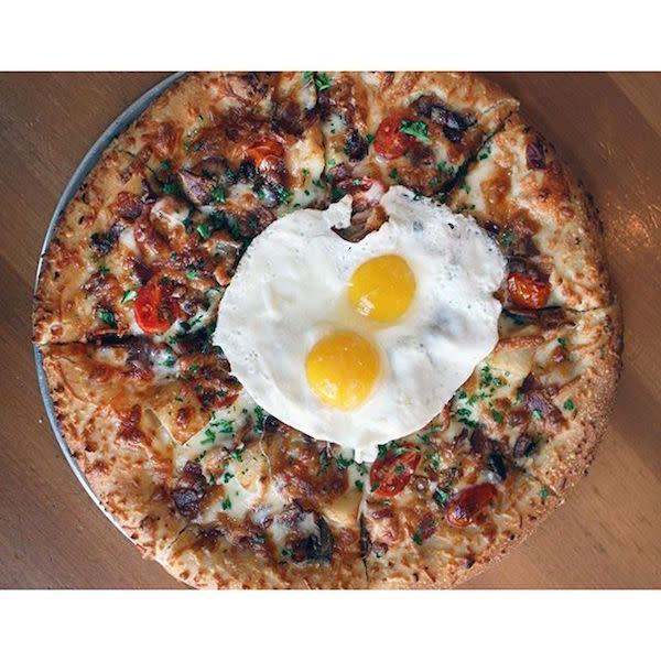 Breakfast Pizza Pie