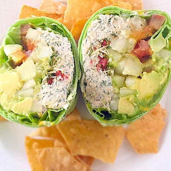 Jan's Chicken Salad Wrap