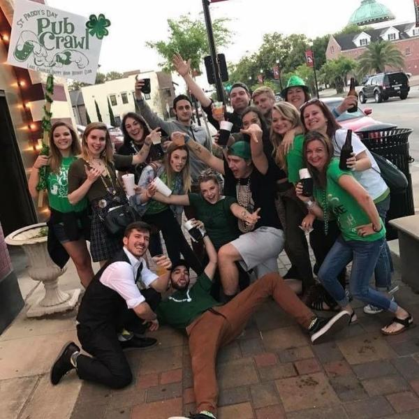 Happy Hour Rotary Pub Crawl | Things to Do for St. Patrick's Day in Lake Charles
