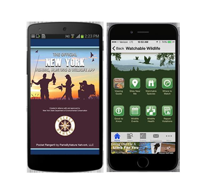 New York Fishing, Hunting & Wildlife App