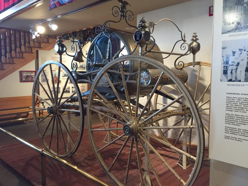 PA Fire Museum interior - Mackenzie Carpenter - Oct. 2015