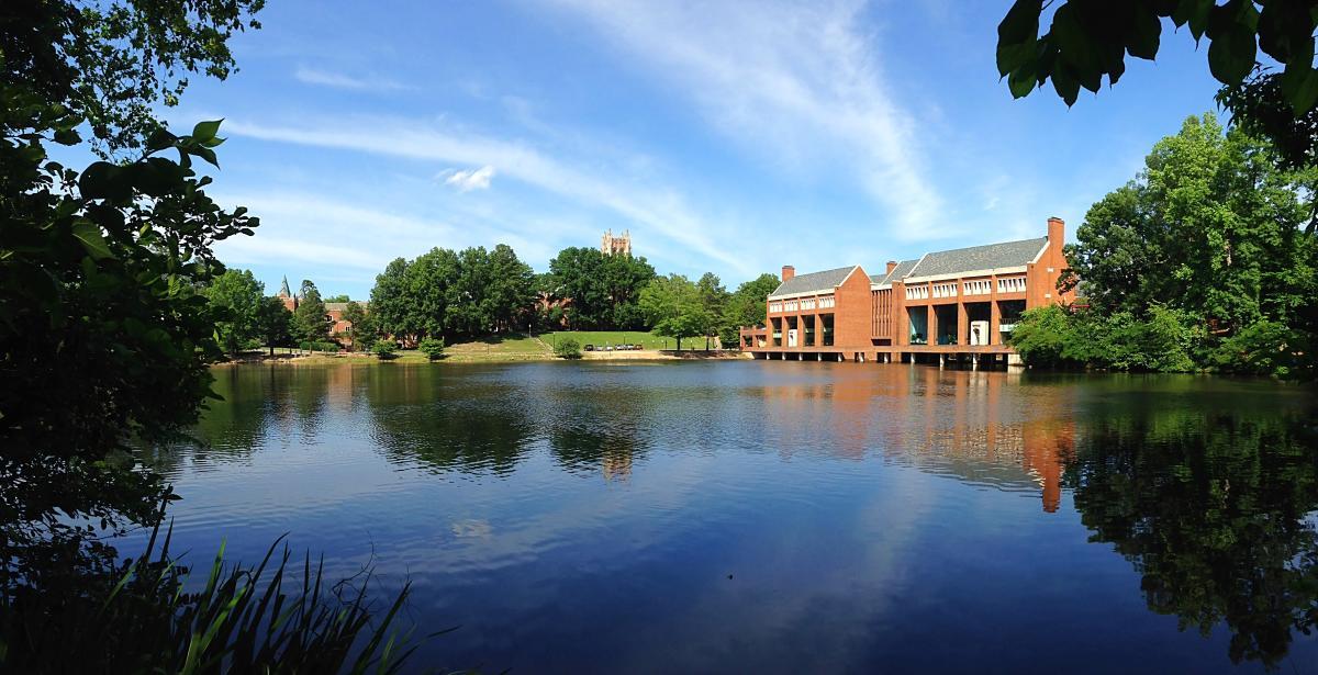 University of Richmond Westhampton Lake