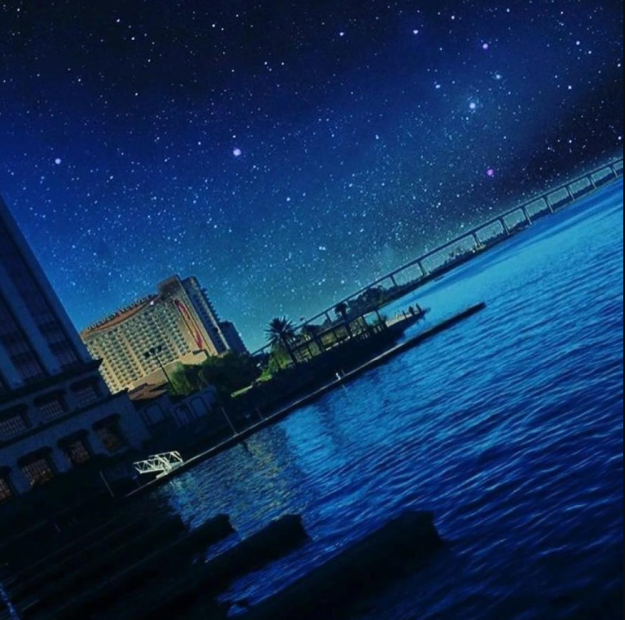 Starry Night | #VisitLakeCharles Photo of the Month