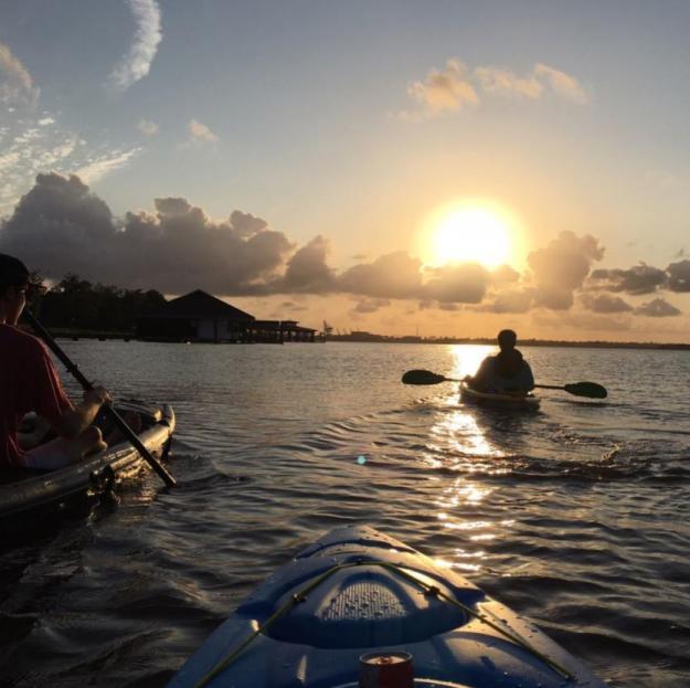 Kayaking on Prien Lake   Photo of the Month