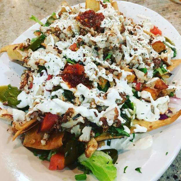 Toga Grill Vegan Nachos | Lake Charles, Louisiana