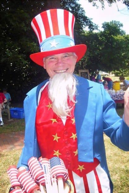 DG Martin as Uncle Sam