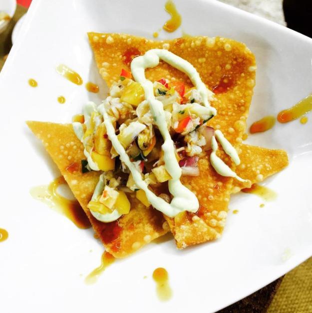 Sloppy Taco's Arts & Crabs Fest Dish | Lake Charles, Louisiana
