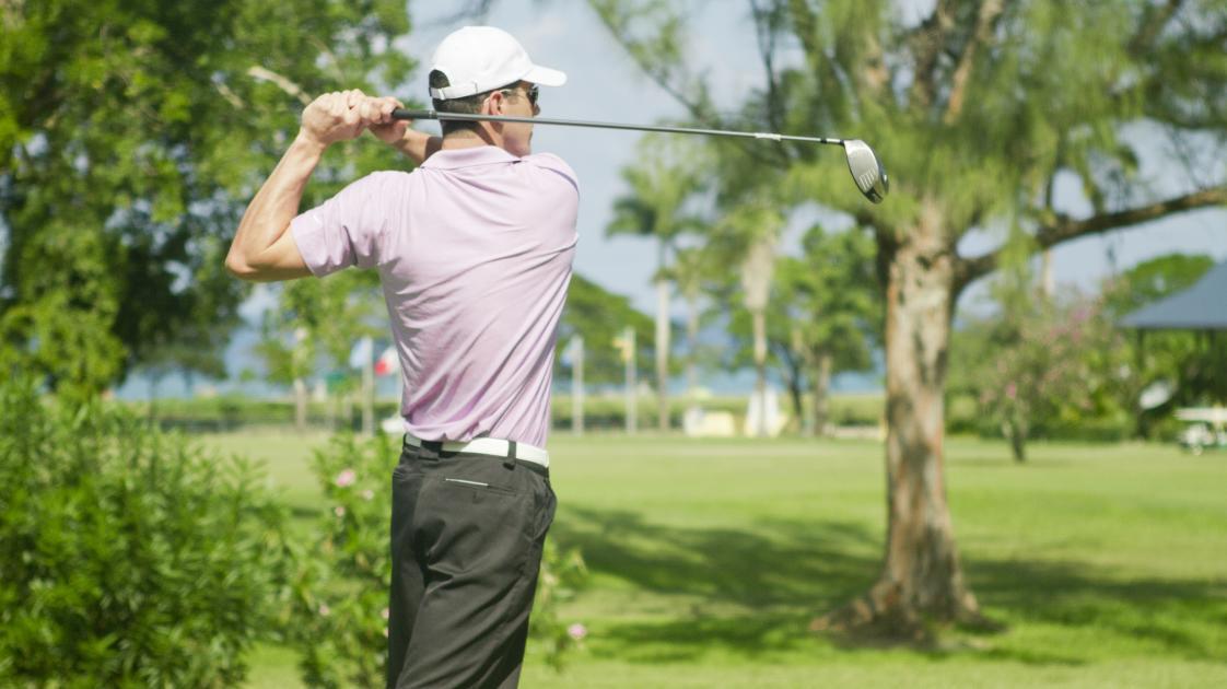 Golf Shot Male H_2457