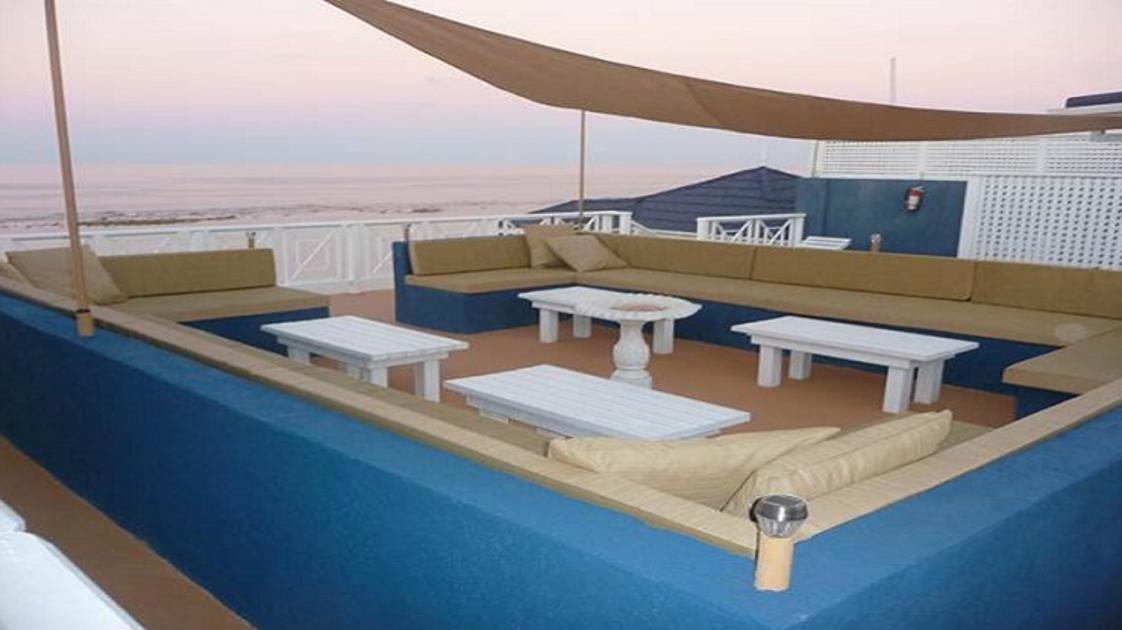 top floor patio