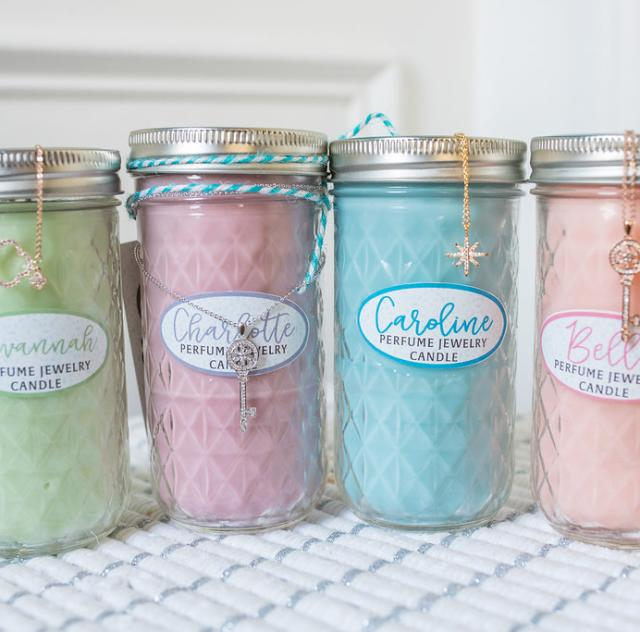 Glamour South Market Jewelry Candles