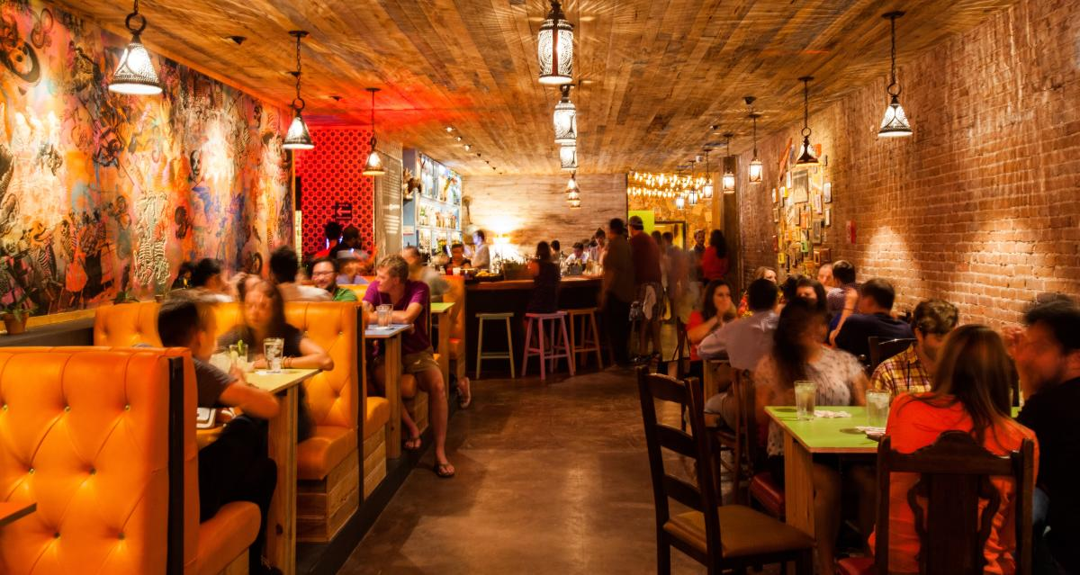 The Pastry War Bar in Downtown Houston