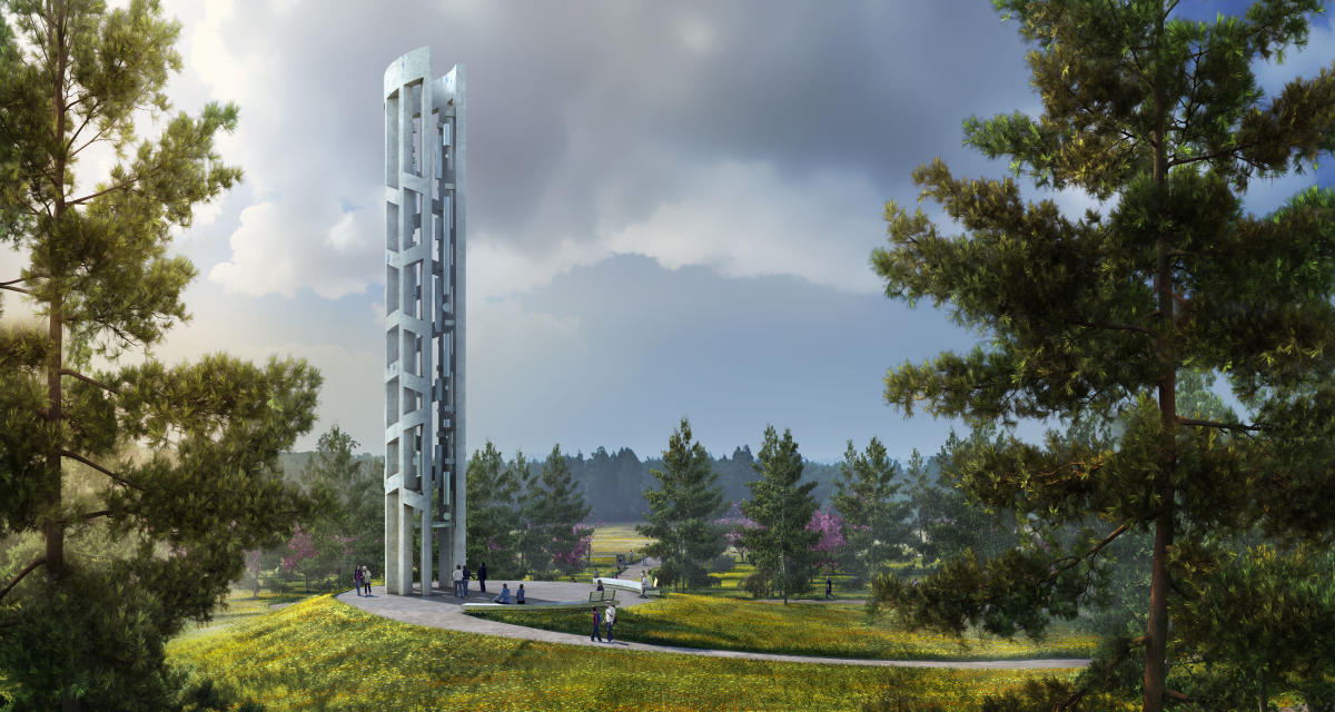 Flight 93 Tower of Voices