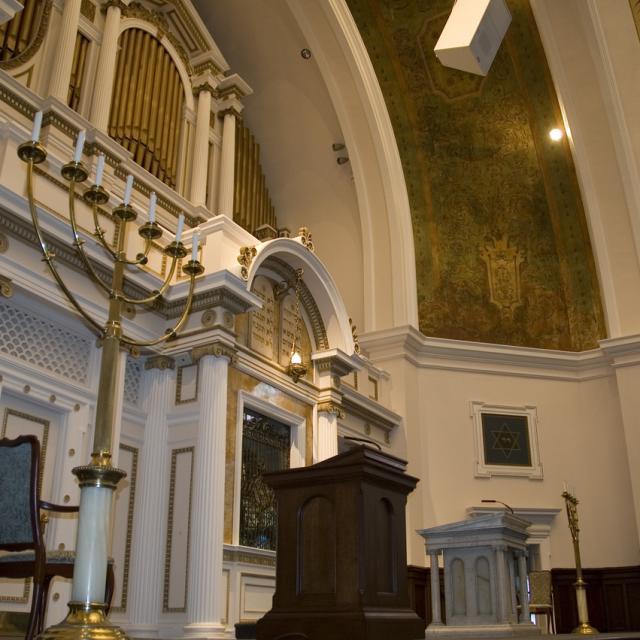 Beth Ahabah Interior