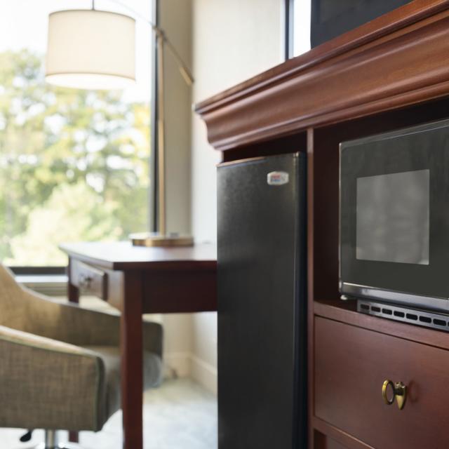 Mircowave / Fridge in Guestroom