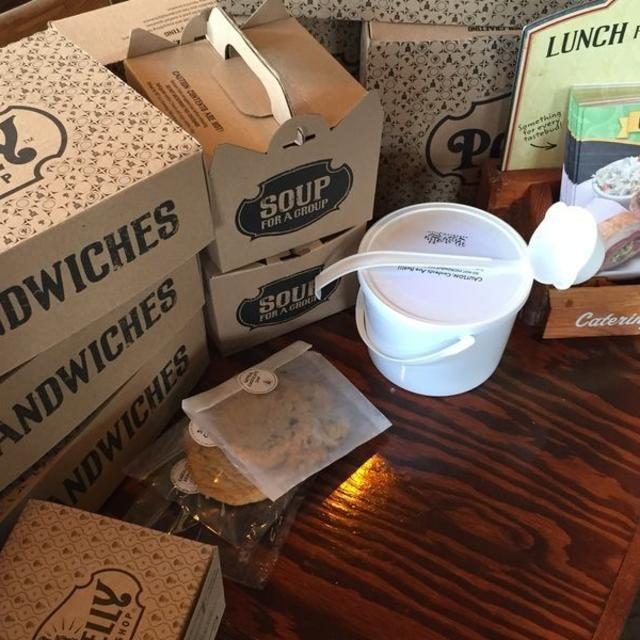Catering, boxed lunches, and delivery!!