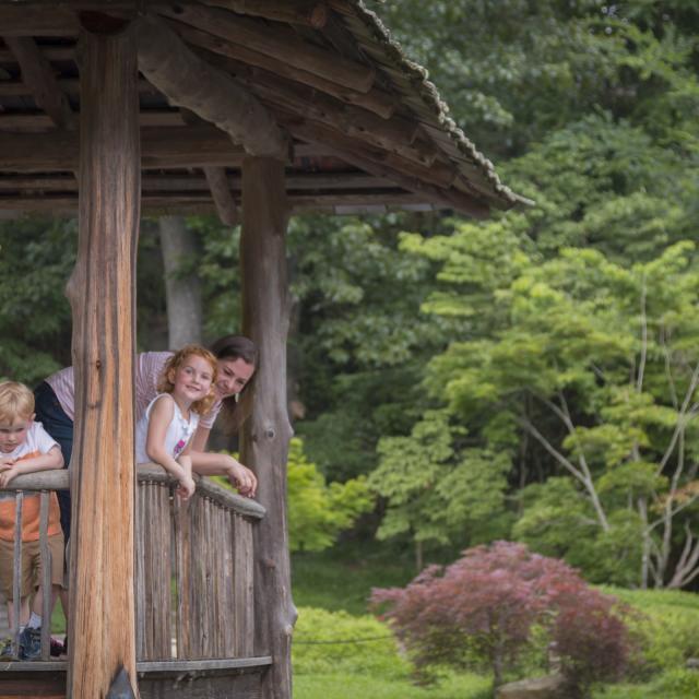 Maymont Japanese Garden Azumaya Family