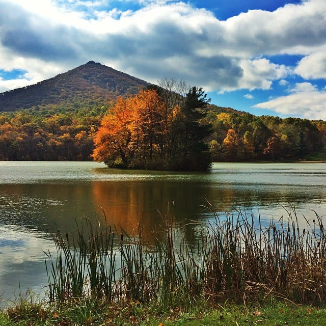 Peaks of Otter Lake - Fall Photo
