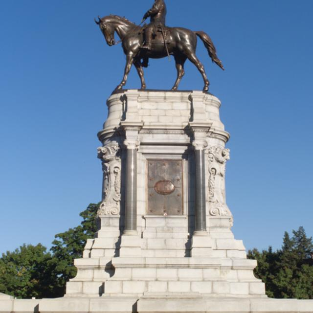 Monument Avenue - Robert E Lee