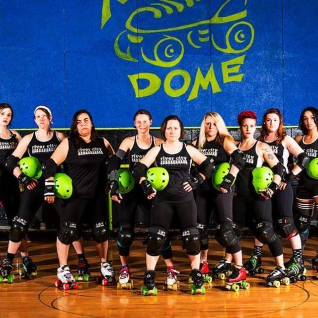 NEW River City Roller Girls