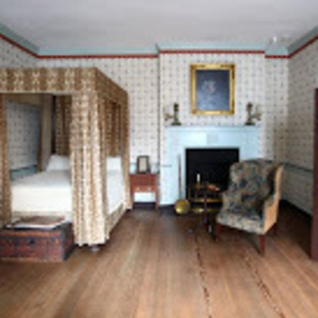 John Marshall House and Garden - bedroom