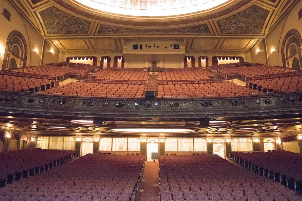 Embassy Theatre View from Stage