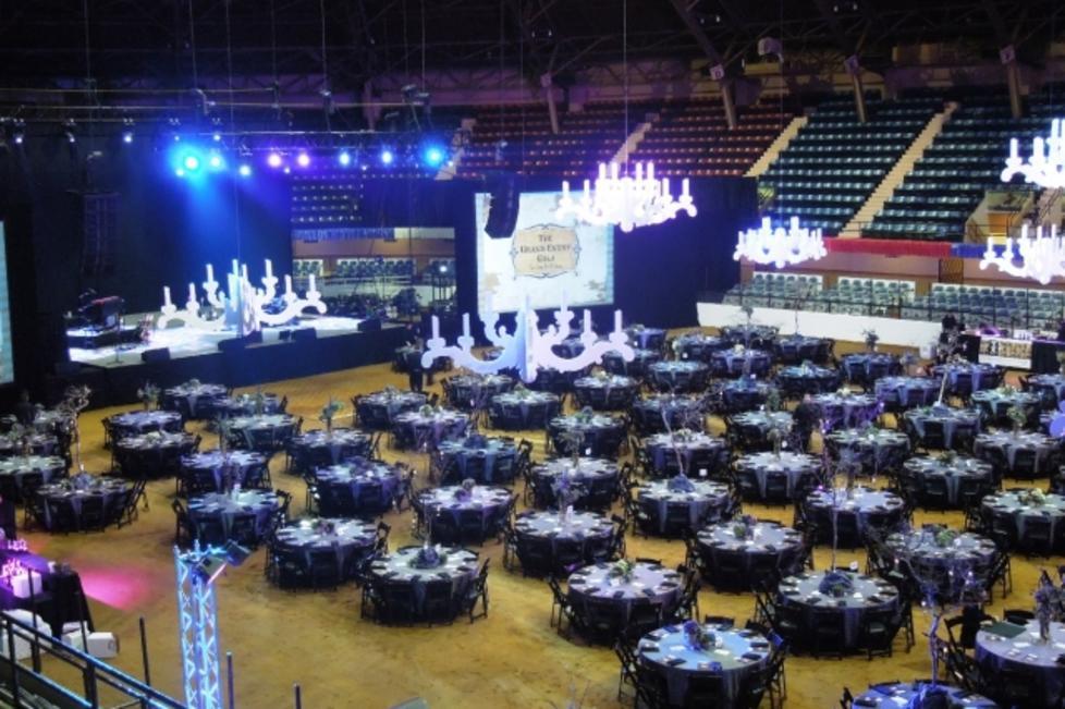 Banquet on the Coliseum Floor