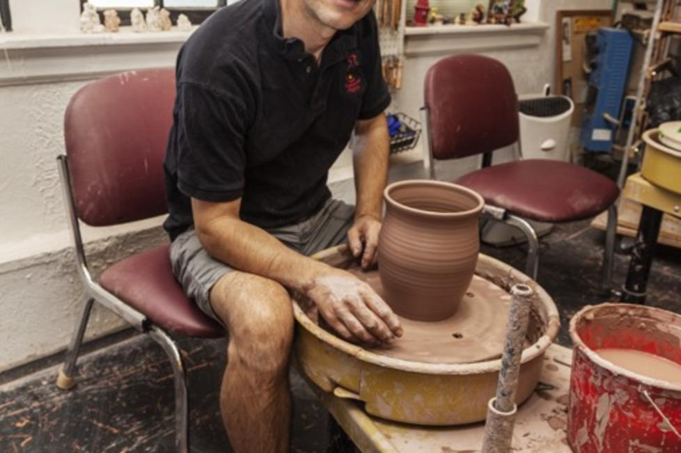 Keith, Owner/Potter