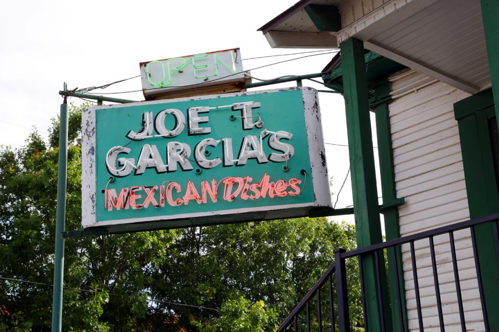 Joe T. Garcia's Exterior