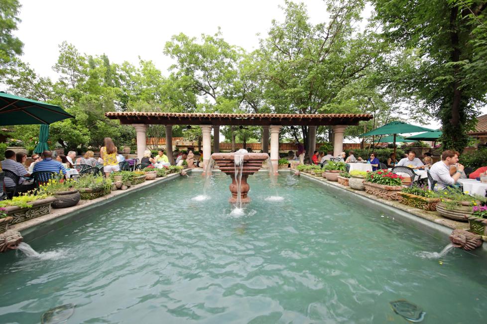Joe T. Garcia's Fountain