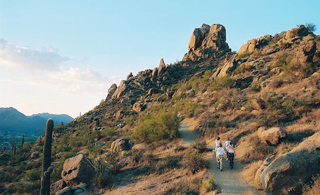 Pinnacle Peak View