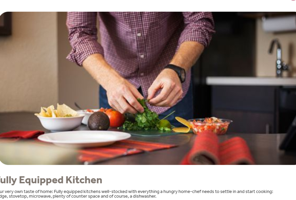 Candlewood Suites - Feel at Home Kitchen
