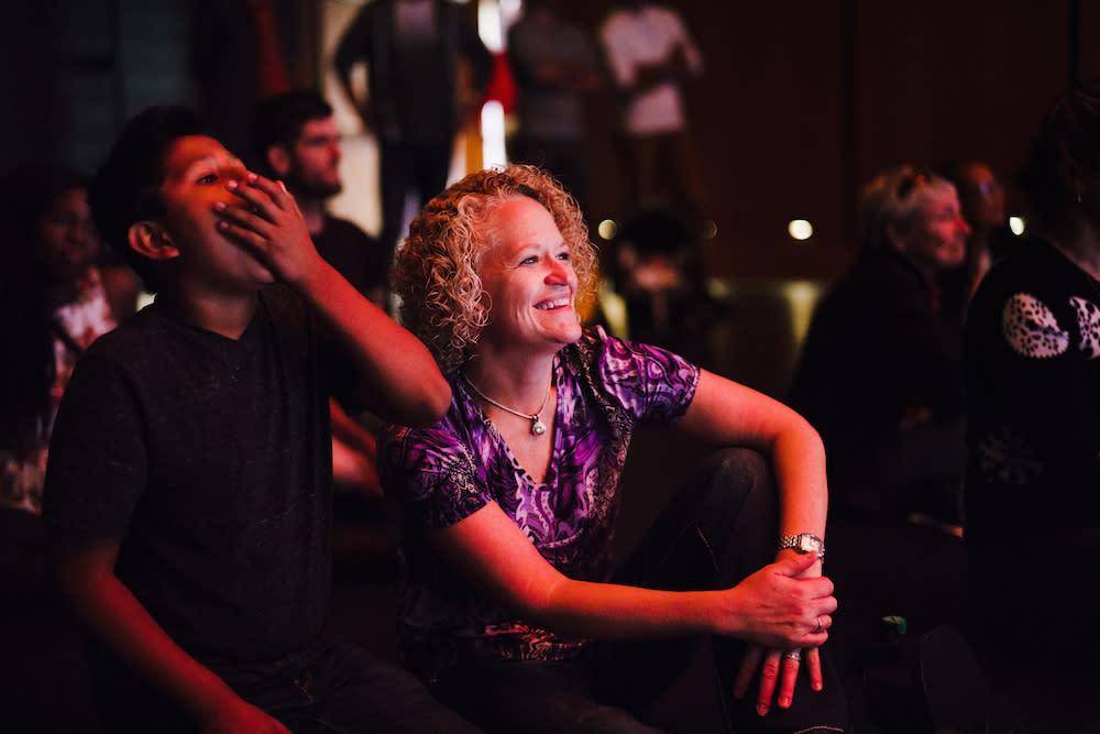 Salt Lake Mayor Jackie Biskupski Enjoying a Performance at Eccles